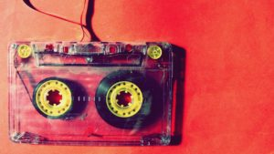 caseta cu banda magnetica - muzica, audio