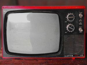 Televizoare vechi, pe lampi, electronica