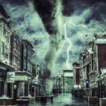 Tornada in Romania filmata in Drajna,Calarasi – Fenomen meteo extrem – BREAKING-NEWS la refuz