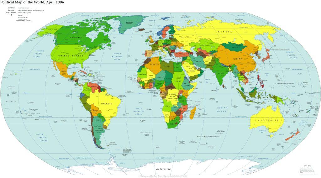 political map-ofhe-world wallpaper-world-map