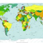 Harta Politica a Lumii (Political Map of the World)