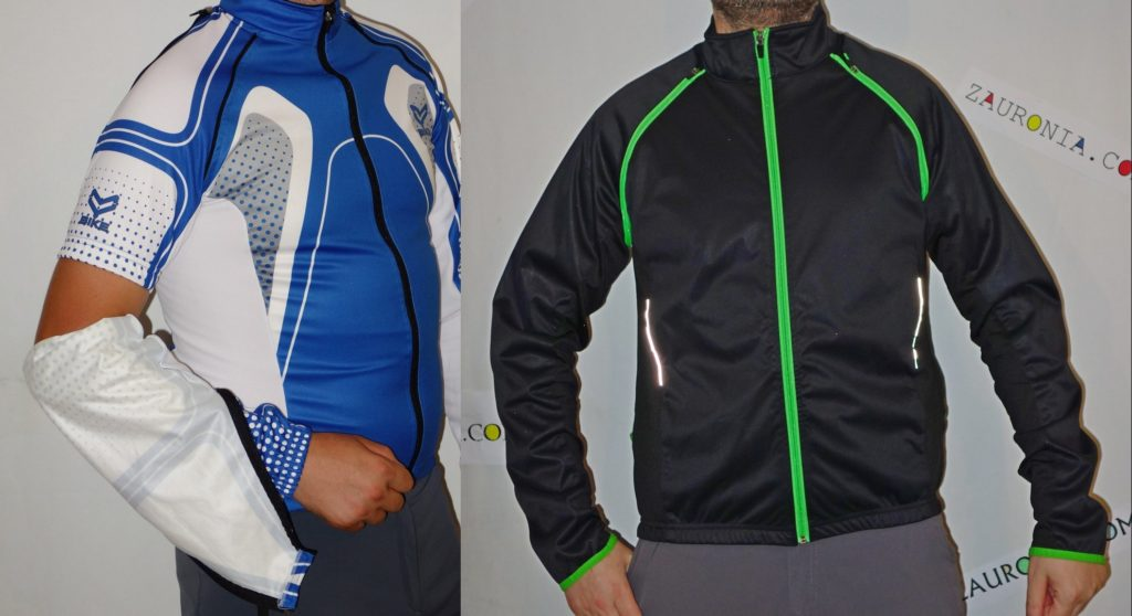bluze ciclism convertibile windproof