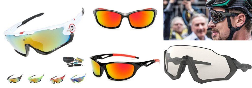 ochelari de soare pentru ciclism multicolor, heliomati-fotocromatici