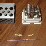 Blower Motor Resistor Thermal Fuse Service DIY