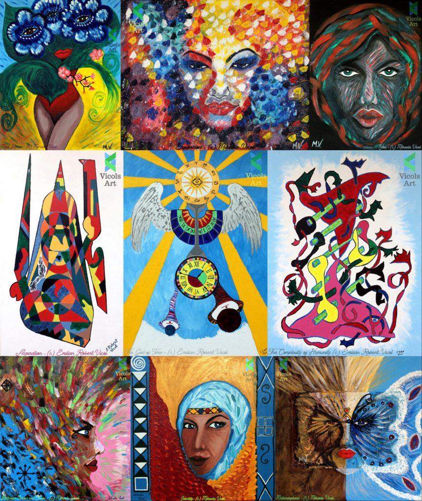 Picturi - Mihaela Vicol - Emilian Robert Vicol - Outsider Art